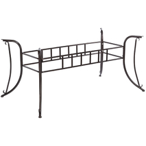 outdoor wrought iron table base YB681505