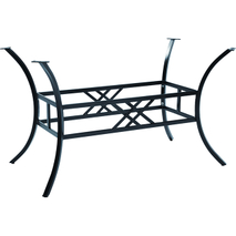 outdoor wrought iron table base YB680702
