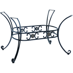 outdoor wrought iron table base YB080801