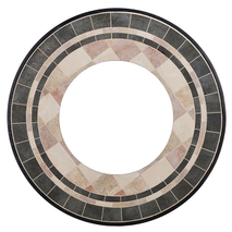 Ceramic fire pit table top YTC581501